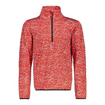 1bf2b12aa41a CMP Pull Polaire Pull Garçon Sweat Imprimé Rouge Respirant Élastique - 140