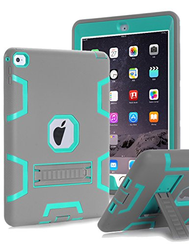 TOPSKY iPad Air 2 Case (2015 Released),[Kickstand Feature] Shock-Absorption / High Impact Resistant Hybrid Three Layer Armor Defender (Air 2015)