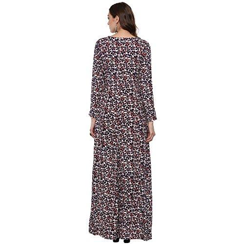 664a889b3f Indian Virasat Kurtis Ethnic Women Kurta Kurti Tunic Multicolouredl Print  Top Dress New Casual Wear by