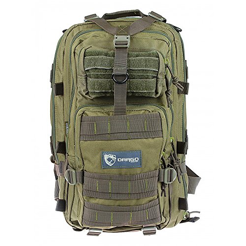 Price comparison product image Drago Gear Tracker Backpack - Green
