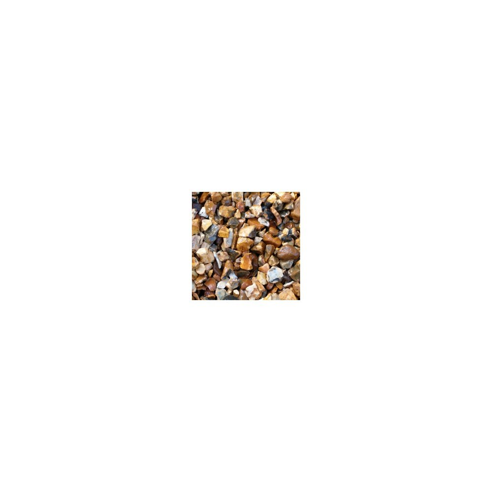 TSO DECORATIVE AGGREGATE GOLDEN GRAVEL CHIPPINGS 20MM 25kg (Approx) BAG
