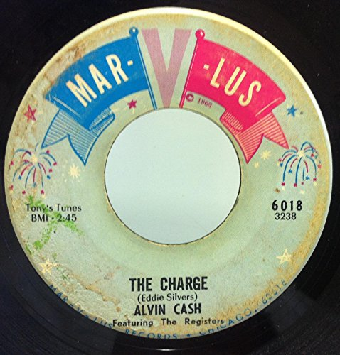 Alvin Cash & The Registers Diff'rent Strokes For Diff'rent Folks / The Charge 45 rpm single