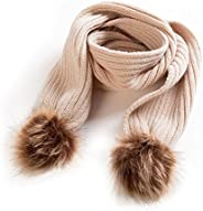 Baby Winter Scarf -Infant Toddler Baby Girls Boys Knit Warm Scarf (Beige)