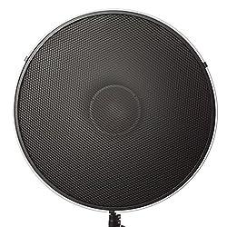 "Fovitec Studiopro Photography Strobe Lighting Monolight Honeycomb Grid For 22"" Beauty Dish - 75 Degrees"
