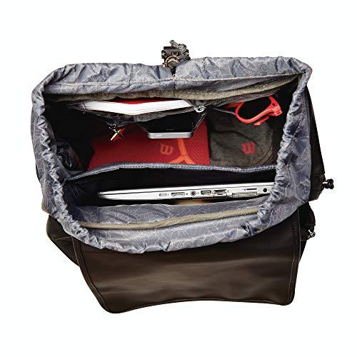 Wilson Fold Over Backpack BK Mochila Negro -: Amazon.es: Deportes y aire libre