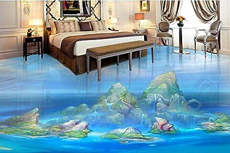 Lwcx pvc personalizzati pavimenti in vinile d pitture murali