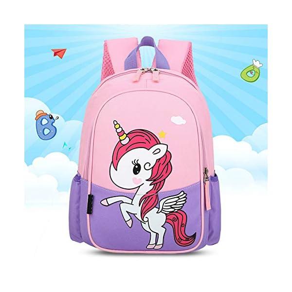 SONGXZ Zaini, Zaini Per La Scuola Per Bambini, Nuovi Zaini Per Bambini In Nylon, Zaini Per Unicorno Dei Cartoni Animati 2 spesavip
