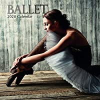 2020 Wall Calendar - Ballet Calendar, 12 x 12 Inch Monthly View, 16-Month, Includes 180 Reminder Stickers