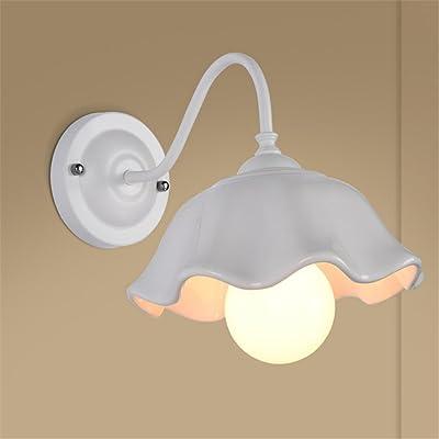 Appliques, lampes de chevet lampe murale création lumière mur salon chambre à coucher balcon corridor chambre simple moderne/blanc chaud 26x18cm