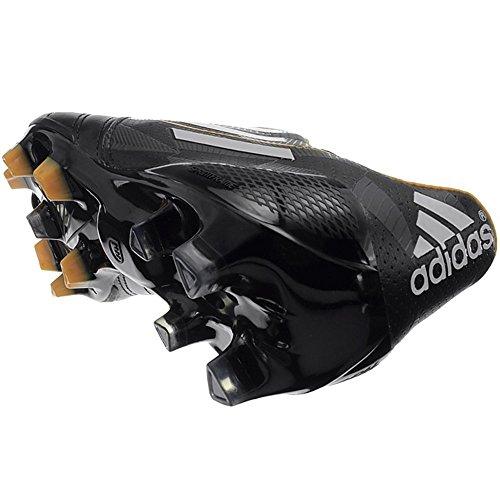 adidas Bota adizero F50 TRX FG Piel Negra-Blanca-Solar gold Negra-Blanca-Solar gold