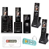 Vtech IS7121-2 Handset Door Answering System with 2 Extra Handsets & $10 aSavings Gift Card Bundle