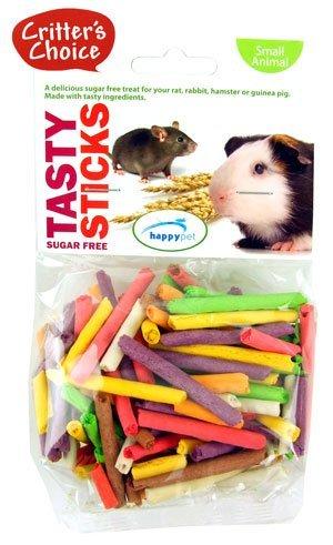 (Critters Choice) Tasty Sticks Sugar Free 75g [45717] None