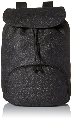Augusta Sportswear Girls Glitter Backpack, Black Glitter/Black, One Size ()