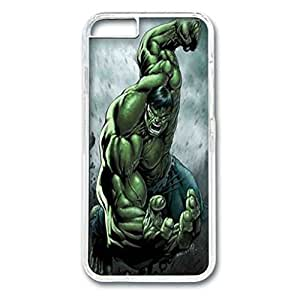 Iphone 6 Case, Iphone 6 transparent case, Hard PC Iphone 6 Protective Case for Ultimate Protect Iphone 6 Design with the hulk by mcsharks