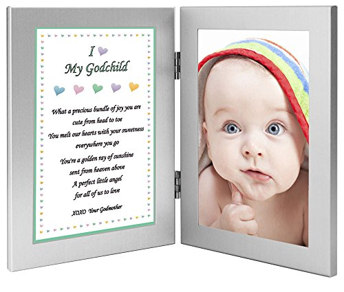 Godchild Gift - Sweet Poem for Godson or Goddaughter From Godmother - Add Photo