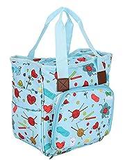 Fashion Appearance Design, Yarn Skeins Bag, Can Be Used As Shopping Bag,Travel Bag or Weekend Trip Bag,(Cartoon Handbag)