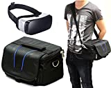Navitech Black Carry Bag With shoulder Strap For Virtual Reality 3D headsets including the Fove 0