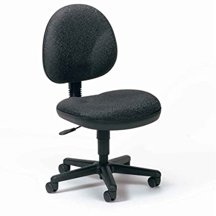 Amazon Com Cheetah High Back Armless Task Swivel Chair 357 Green