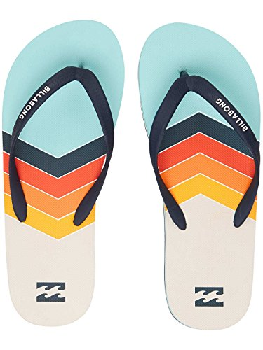 Billabong Men's Tides North Point Beach and Pool Shoes, Black Green (Mint 539.0)
