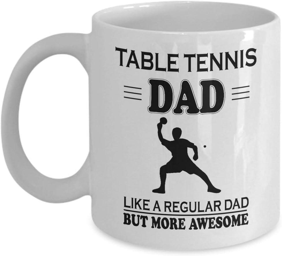 Regalos de papá por primera vez - regalos de papá nuevos - tenis de mesa taza divertida de papá - regalo del día del padre para papá nuevo, Gran regalo para papá, Regalo de navidad para papá, Regalos