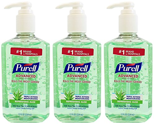 Purell Advanced Instant Sanitizer Bottle