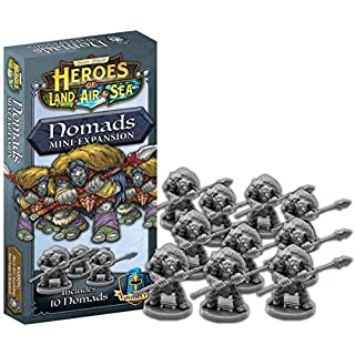 Board Game Expansion Heroes of Land Air and Sea - Expansion Nomads