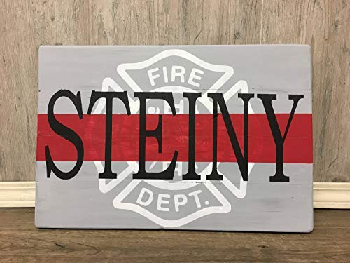 Iliogine Vintage Wood Sign Fireman Firemen Last Name Sign Fire Department Sign Fireman Fireman Monogram Sign Fireman Gift Home Decor Wall Plaque Home Sign Gift