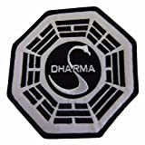 Lost Dharma Swan Iron On Patch