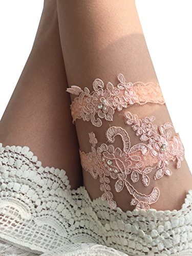 Best blush garters for bride for 2019
