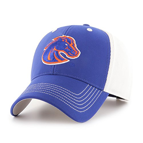 NCAA Boise State Broncos Sling OTS All-Star Adjustable Hat, Royal, One - State Hat Boise