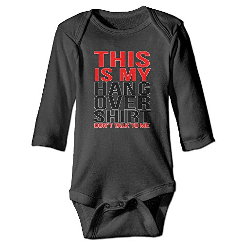 BRIGHT JUNAY This Is My Hangover Unisex Baby Stylish Bodysuit Long Sleeves Romper Outfit - Costume Hangover Ideas The