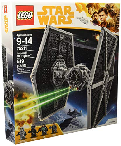 - LEGO Star Wars Imperial TIE Fighter 75211 Building Kit (519 Piece)