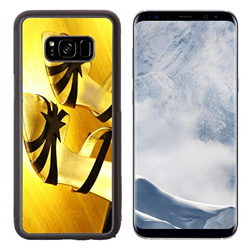 Luxlady Samsung Galaxy S8 Plus S8+ Aluminum Backplate Bumper Snap Case IMAGE ID 690493 A pair of high heel shoes for women