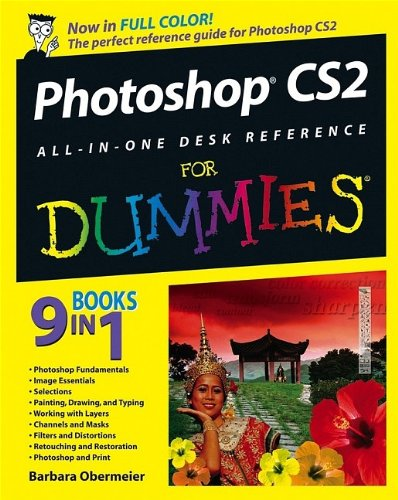 Download Photoshop Cs2 All In One Desk Reference For Dummies Book