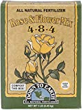 Down To Earth All Natural Rose & Flower Bulb Fertilizer Mix 4-8-4, 1 lb