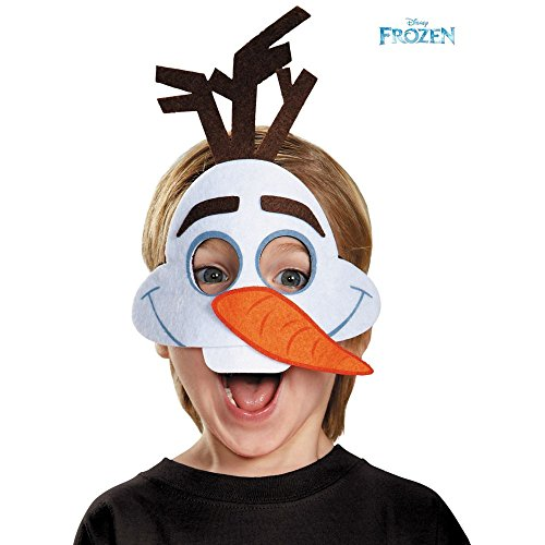 Frozen Costumes For Men (Disguise Olaf Felt Mask Costume)