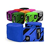Sanabul Boxing Handwraps Elastic 180 inch Blue