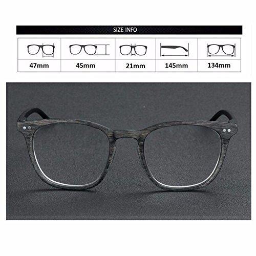 Hyperopia de retro Gafas de Gafas Gafas de personalizada sol de transición resistencia Gris fotocromáticas Myopia ópticas Nerd lectura Rx UV400 Rx nTTrfXZwq