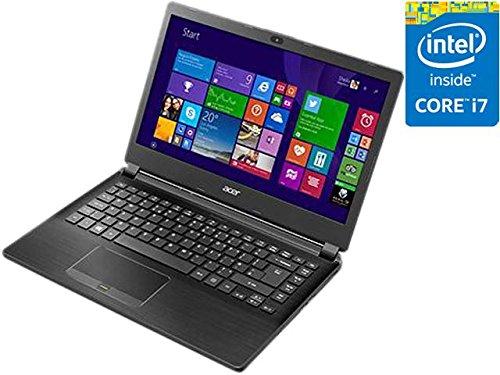 Acer Laptop TravelMate TMP446-M-75ZW Intel Core i7 5500U (2.40GHz) 8GB Memory 500GB HDD Intel HD Graphics 5500 14.0'' Windows 7 Professional 64-Bit