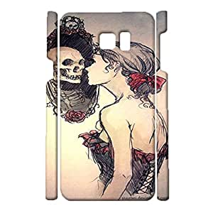 Samsung Galaxy Note 5 Exquisite Special 3d Protective Case Skull Girl Print Phone Case for Samsung Galaxy Note 5