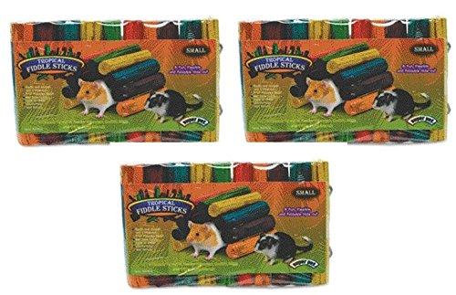 Stick Fiddle Tropical - Super Pet Tropical Fiddle Sticks Hideouts Small (3 Pack)