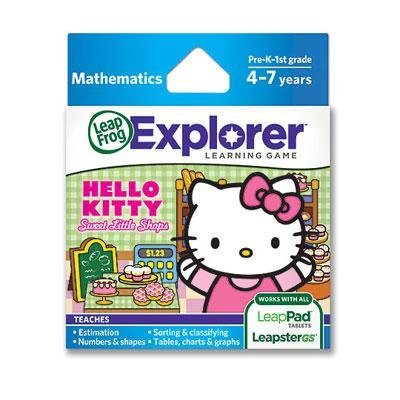 LeapFrog Hello Kitty Learning Game (works with LeapPad Tablets and LeapsterGS) by LeapFrog Enterprises