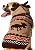 Chilly Dog Moosey Hoodie Dog Sweater, Small Review