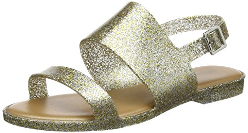 Gold 19 Para Sandalias Correa Con Classy gold Glitter De Melissa Tobillo Mujer 5xfHFzwWq