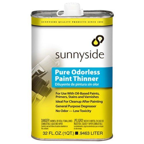Sunnyside 70532 Pure Odorless Paint Thinner, Quart