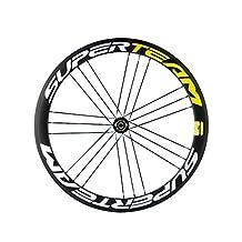 50mm 700C 23mm Width Clincher Wheels 3K Carbon Racing Wheelset for Road Bike Powerway R13 Hub