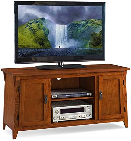 BOWERY HILL 55 TV Console in Russet