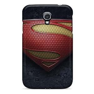 Waterdrop Snap-on Man Of Steel Logo 2 Case For Galaxy S4