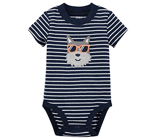 Carter's Baby Boys' Dog With Sunglasses Bodysuit 6 - Sunglasses Boy Baby Carters