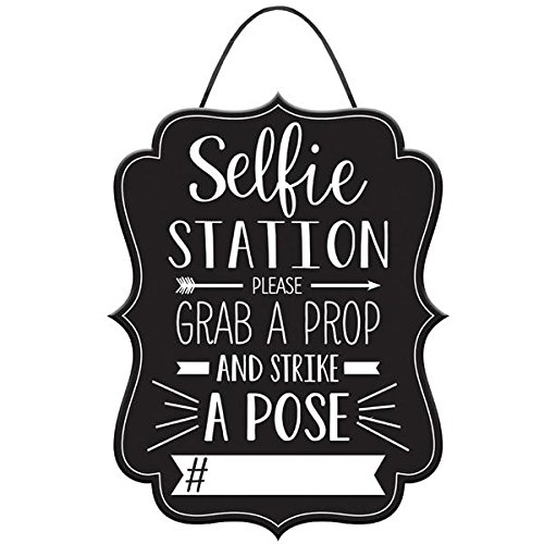 Graduation Photo Booth Hashtag Sign (Sign Booth Photo)
